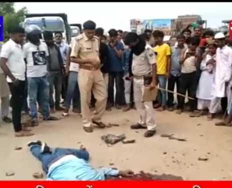 बैट्री चोरी के आरोप में युवक की पीटकर हत्या