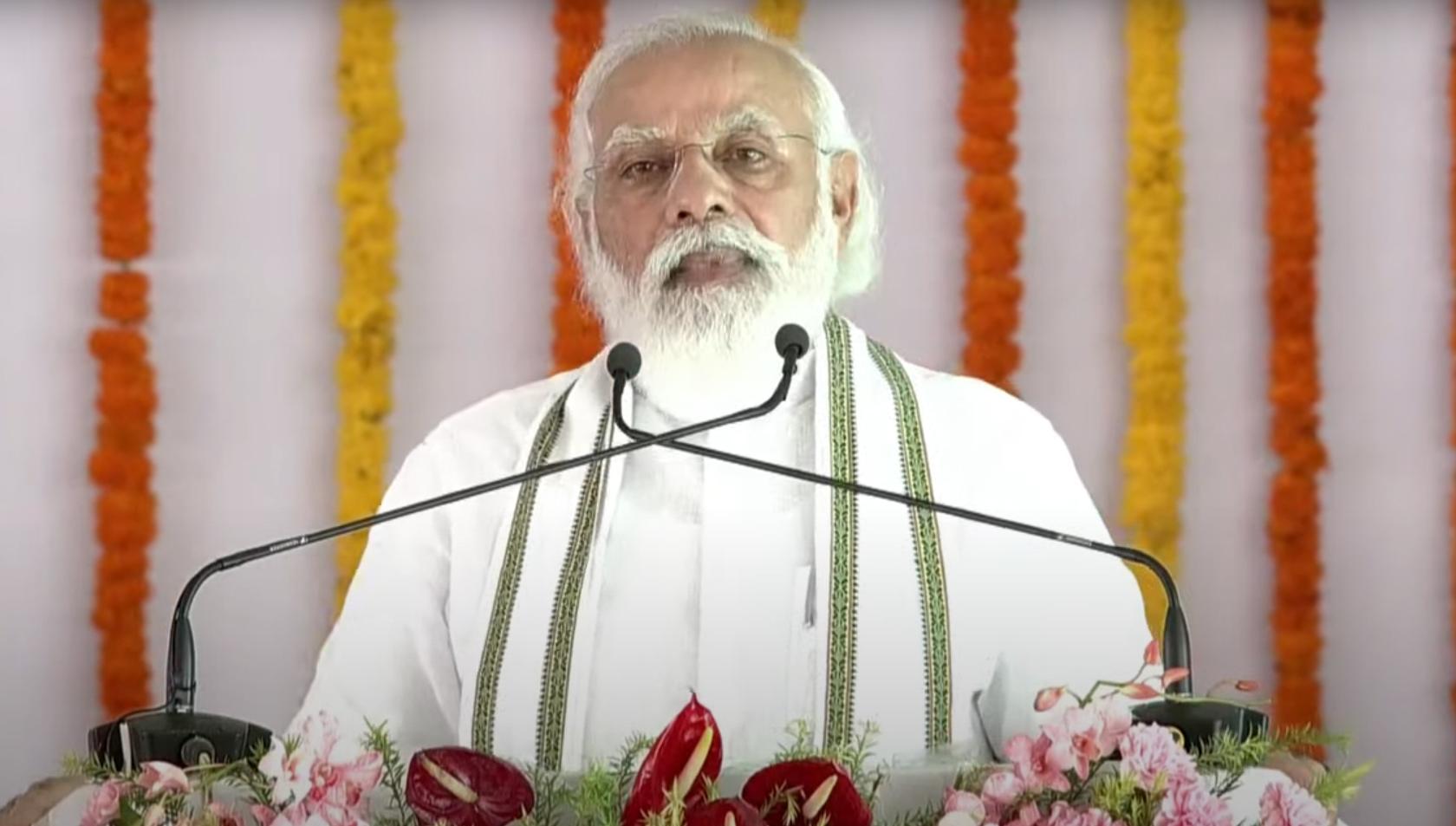 प्रधानमंत्री द्वारा अलीगढ़ में विश्वविद्यालय के शिलान्यास पर अखिलेश का पलटवार