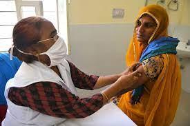 कोरोना टीकाकरण के बाद  महिला की मौत