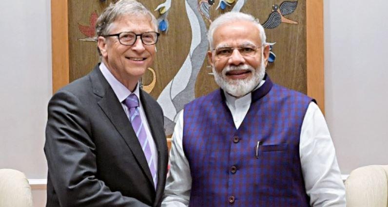 बिल गेट्स ने आयुष्मान भारत डिजिटल मिशन के लिए प्रधानमंत्री को दी बधाई