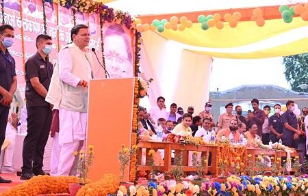 उत्तराखंड : मुख्यमंत्री ने किच्छा के विकास के लिए 8.50 करोड़ की योजनाओं का किया शिलान्यास !