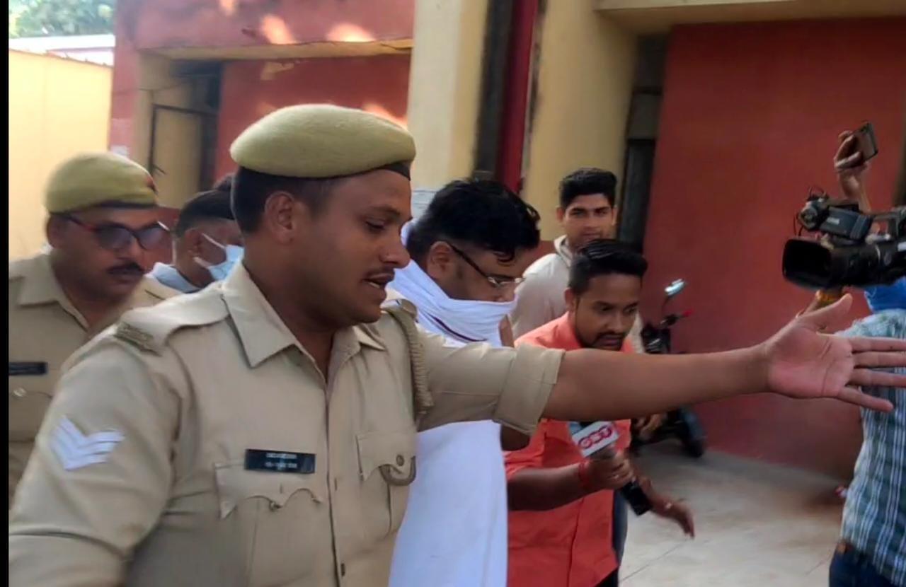 लखीमपुर खीरी घटना: 5 घंटे की पूछताछ के बाद अंकित दास को भेजा गया जेल