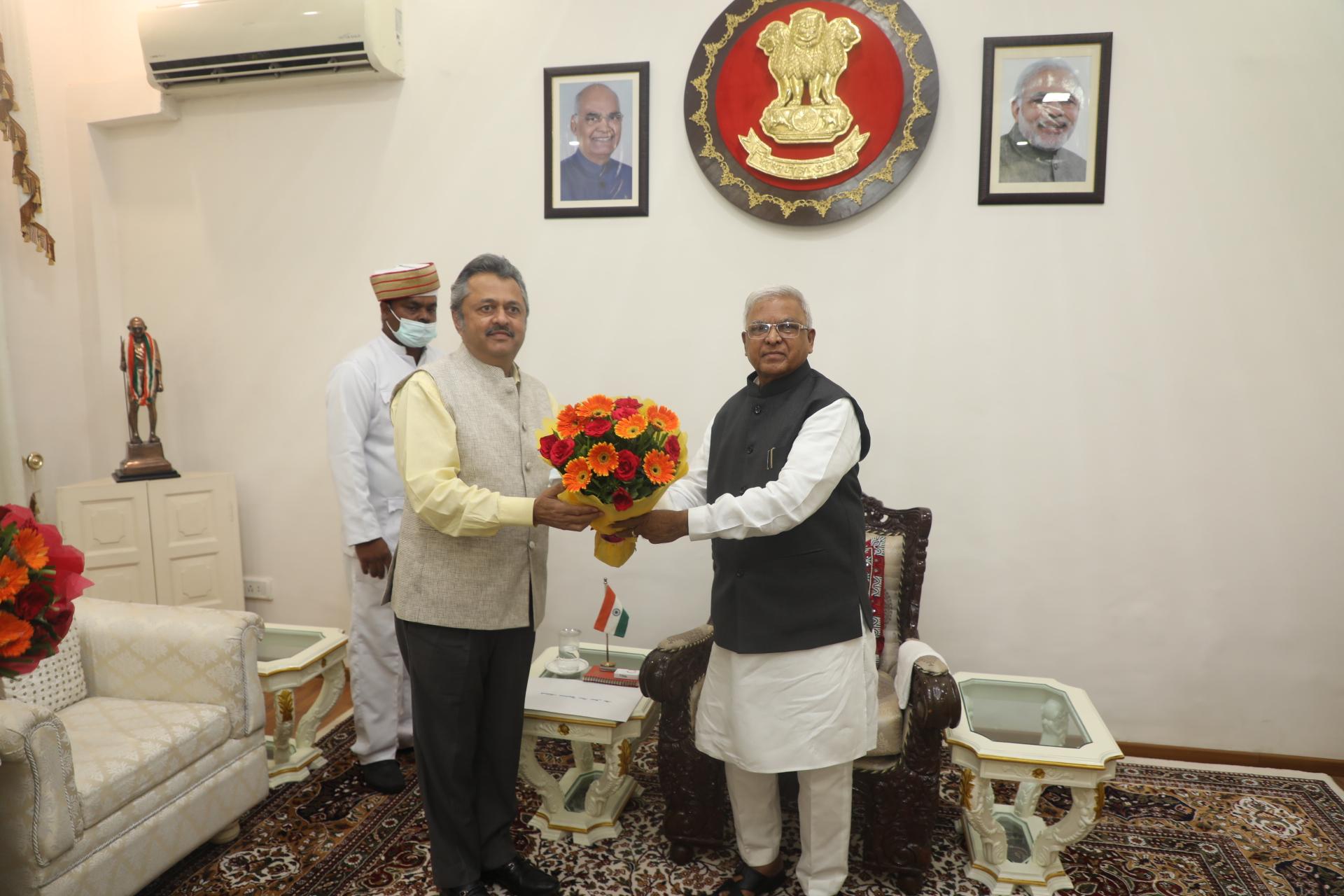 मप्र के 27वें मुख्य न्यायाधीश बने रवि विजय कुमार मलिमथ, राज्यपाल ने दिलाई शपथ